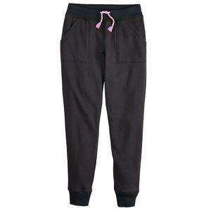 2 for $20 Girl's Black Fleece Sweatpants Size 16